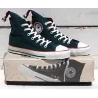 90's VINTAGE CONVERSE ALL STAR HI MADE IN USA[HOLIDAY ELF/SIZE 5/DEAD STOCK]