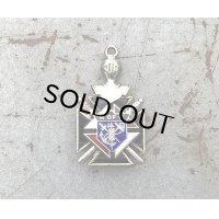 "VINTAGE KNIGHTS of COLUMBUS ""FMMT"" PENDANT(FOB CHAIN)"