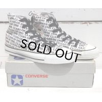 80's VINTAGE CONVERSE ALL STAR HI MADE IN USA[CLASS OF 91/SIZE 6/DEAD STOCK]