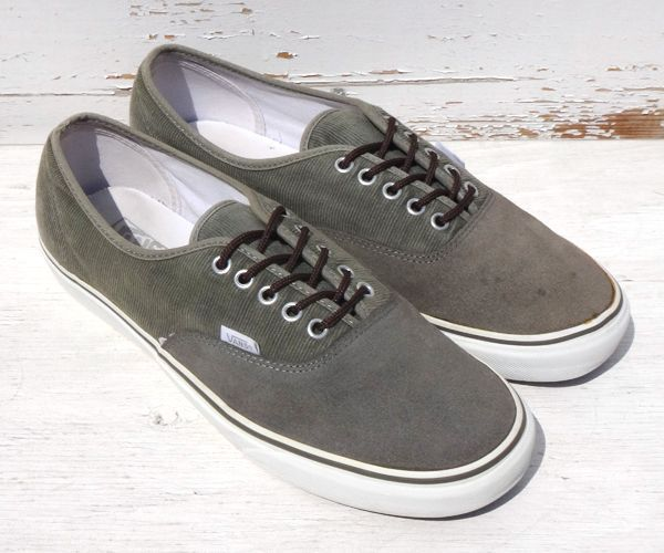 622ab0526b1377 VANS AUTHENTIC[CORDUROY×SUEDE SIZE 11] - NUT S WAREHOUSE